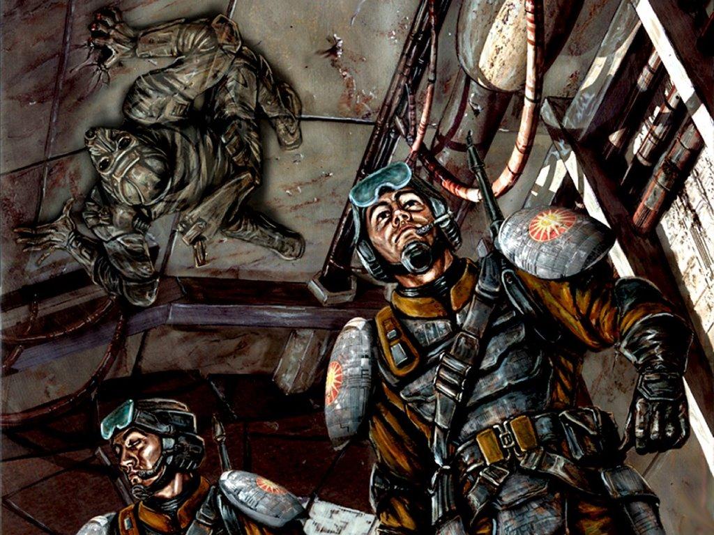 Fantasy Wallpaper: Battletech - Covert Ops