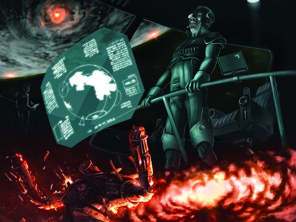 Fantasy Wallpaper: Battletech - Dawn of Jihad