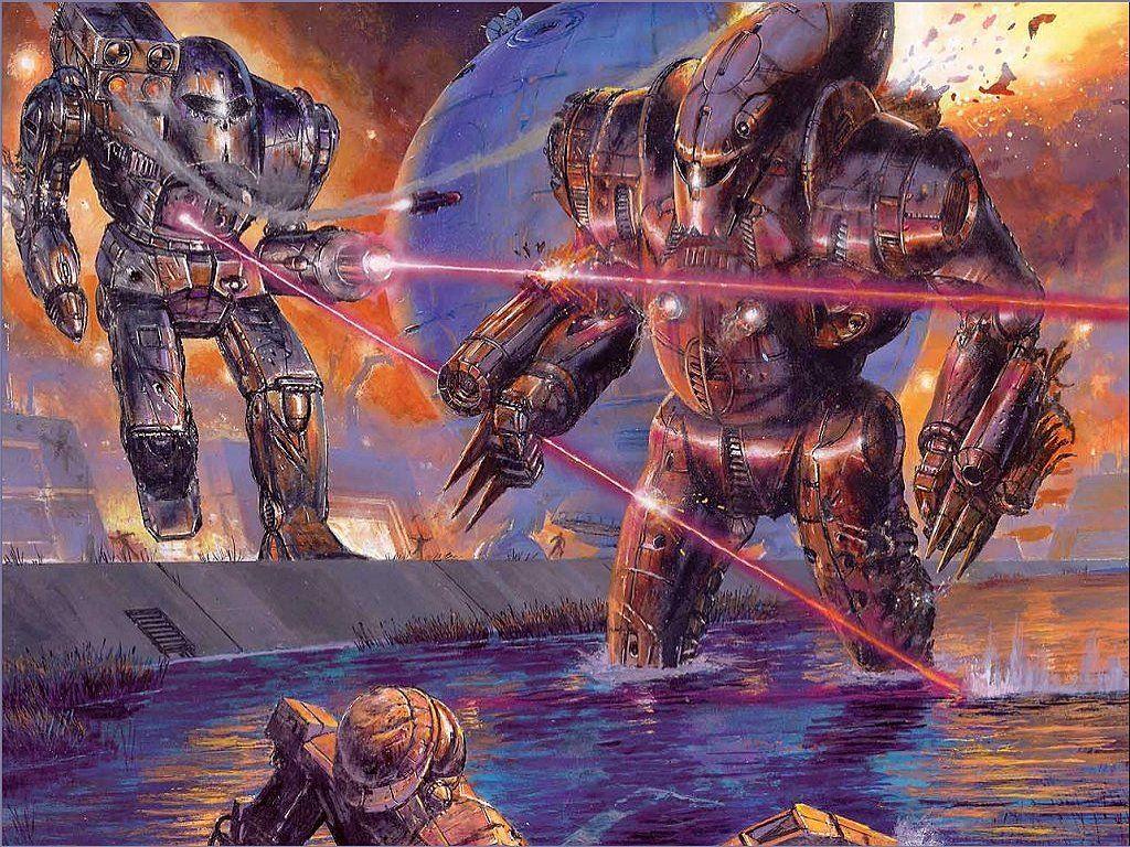 Fantasy Wallpaper: Battletech - Initiation to War