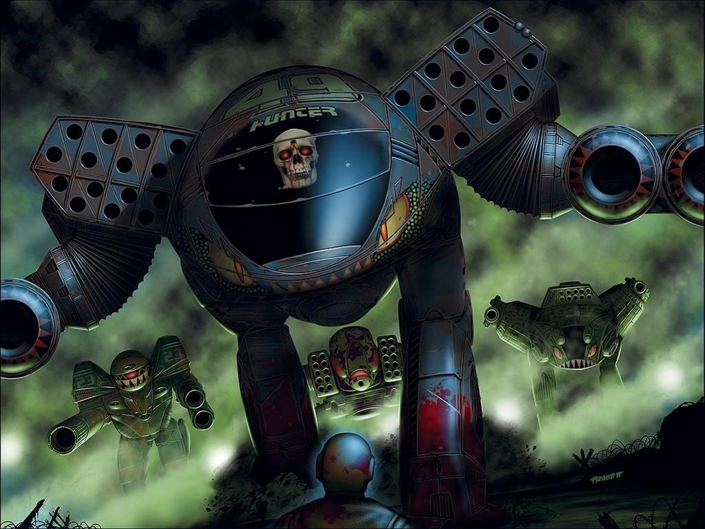 Fantasy Wallpaper: Battletech - Intimidation Tactics