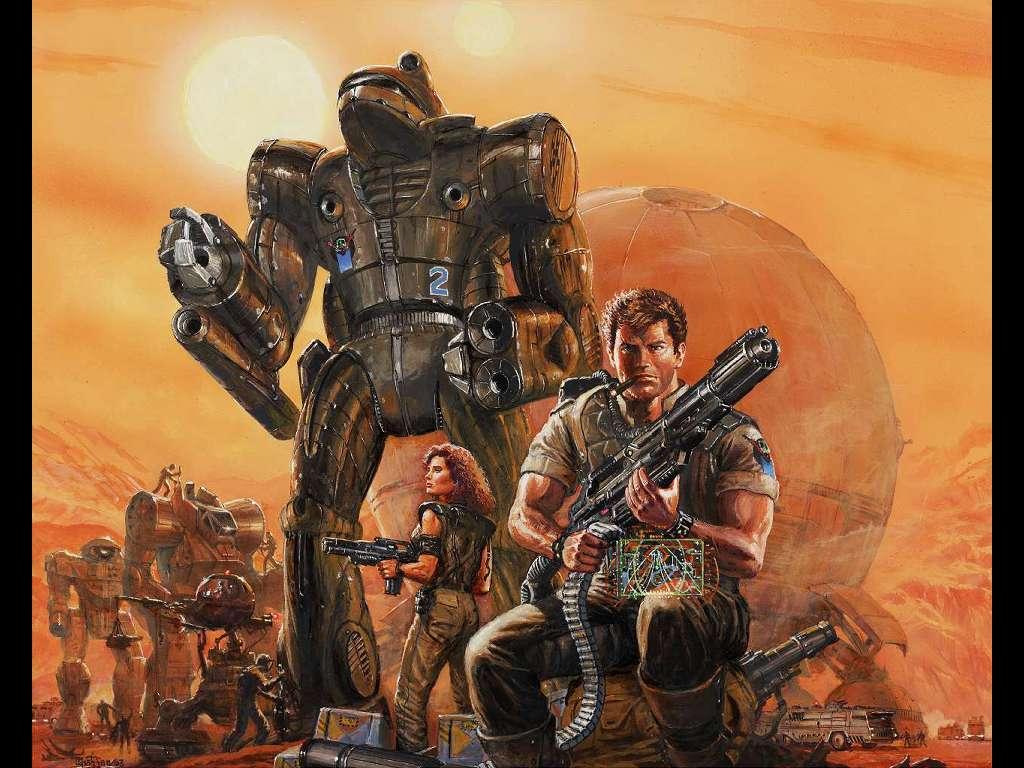 Fantasy Wallpaper: Battletech - Mercenaries