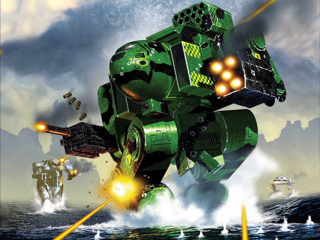 Fantasy Wallpaper: Battletech - Storms of Fate