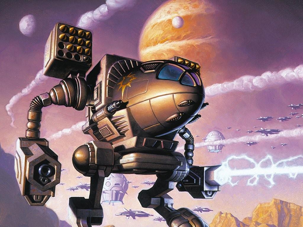 Fantasy Wallpaper: Battletech - Timberwolf