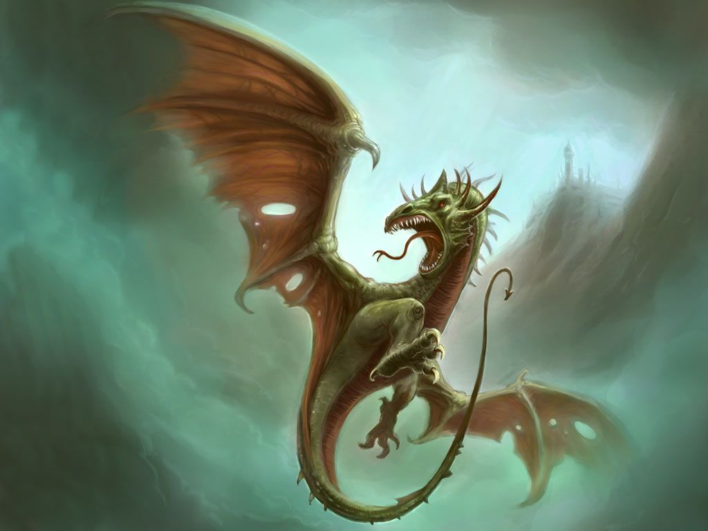 Fantasy Wallpaper: Wyvern