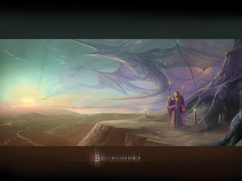 Fantasy Wallpaper: Beckoned