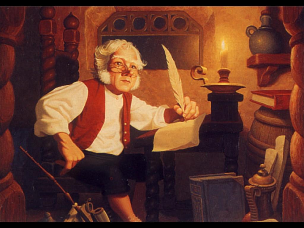 Fantasy Wallpaper: Bilbo
