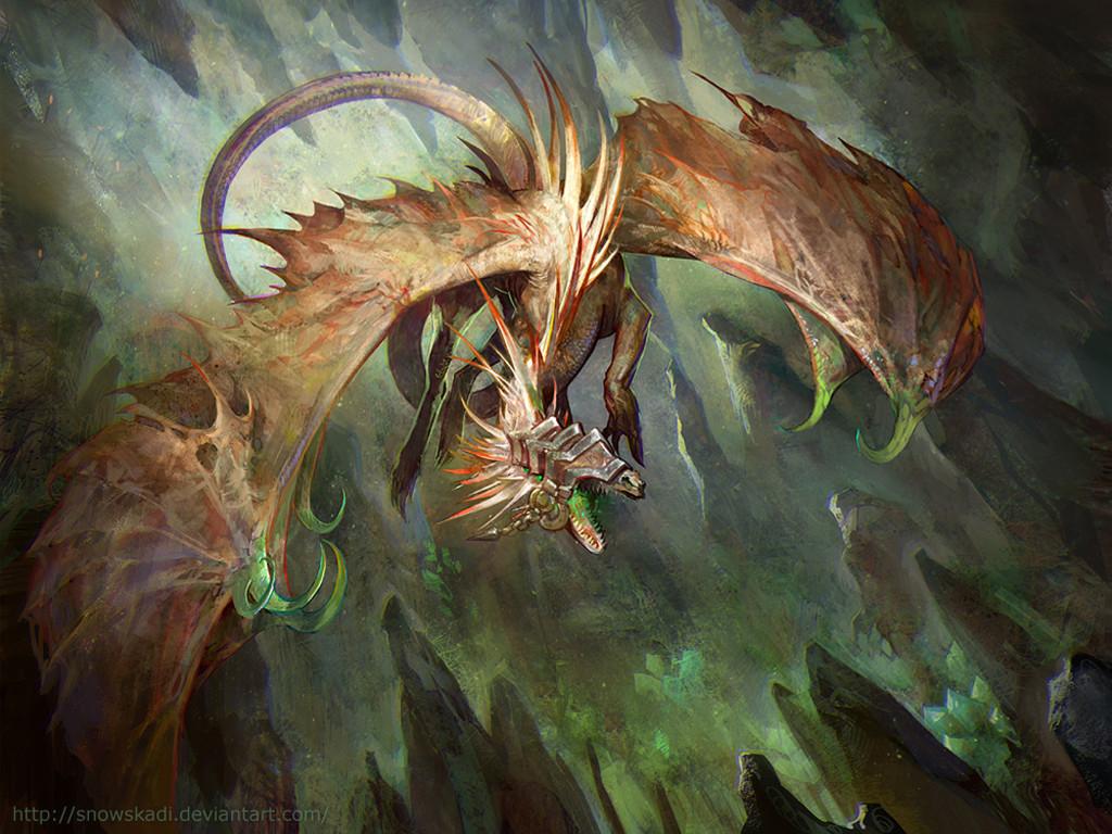 Fantasy Wallpaper: Blind Dragon