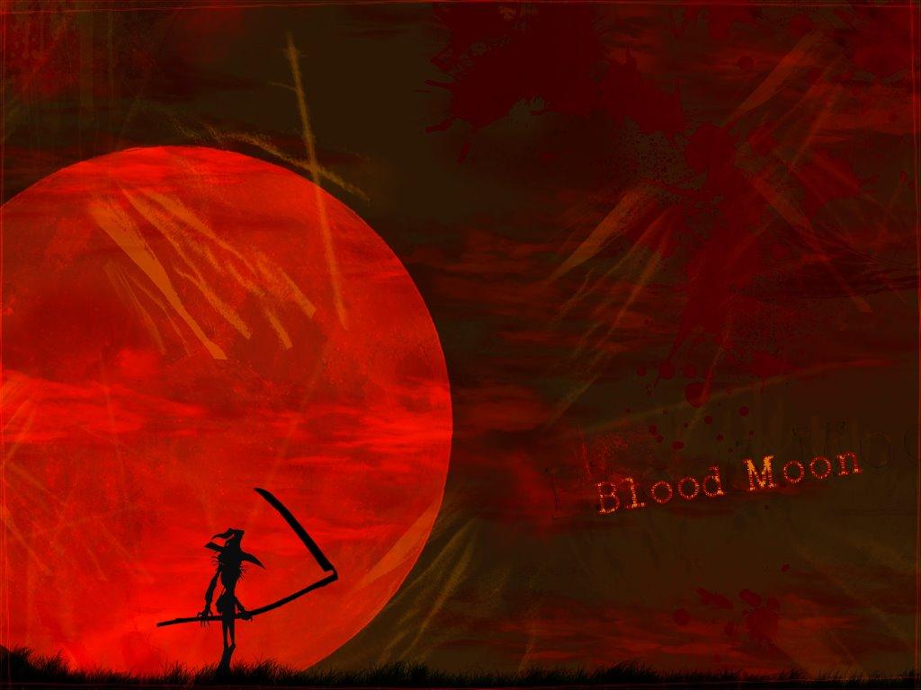 Fantasy Wallpaper: Blood Moon