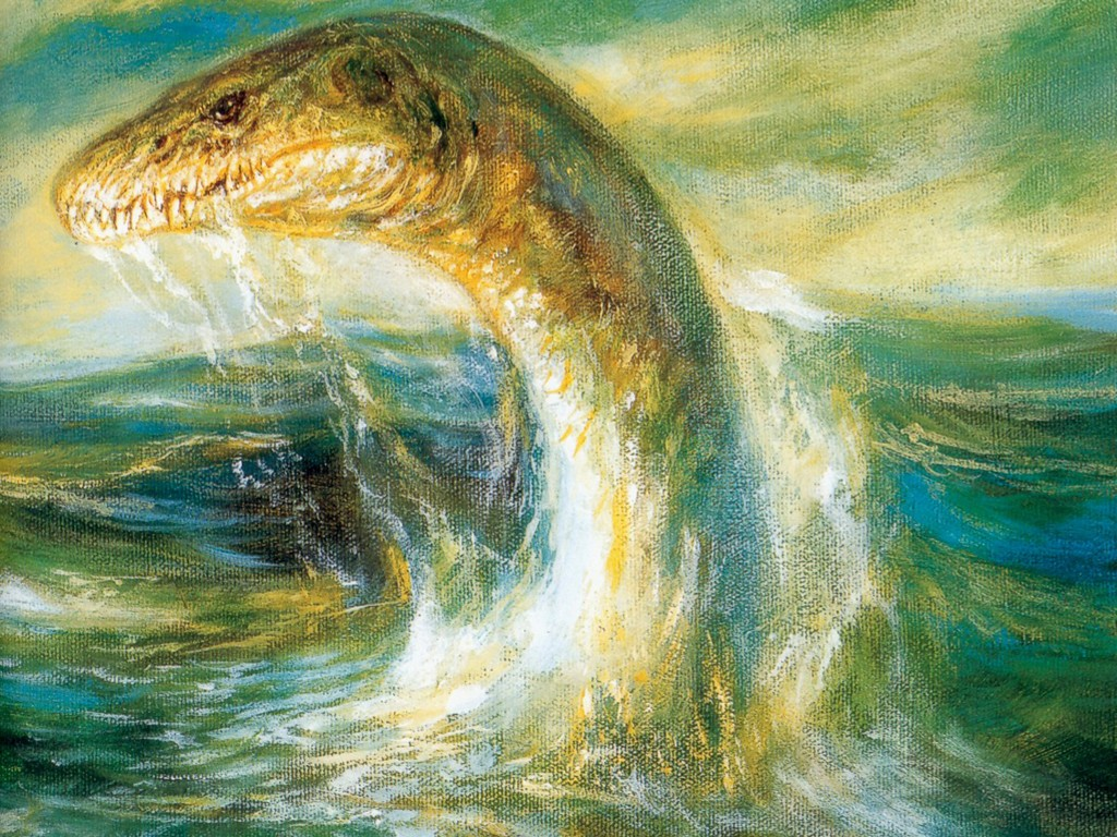 Fantasy Wallpaper: Plesiosaur (by Bob Eggleton)