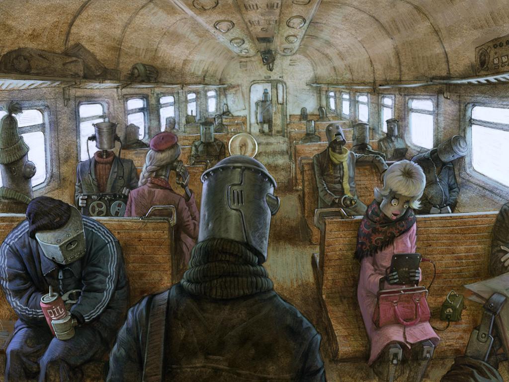 Fantasy Wallpaper: Bot Bus