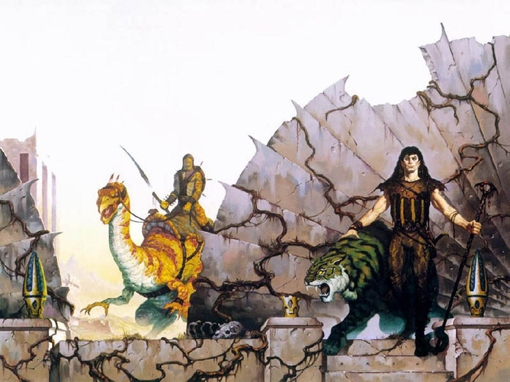Fantasy Wallpaper: Brom - King of Evil