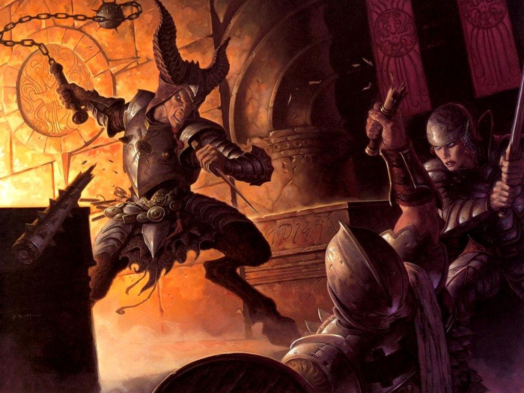 Fantasy Wallpaper: Brom - Offrandes