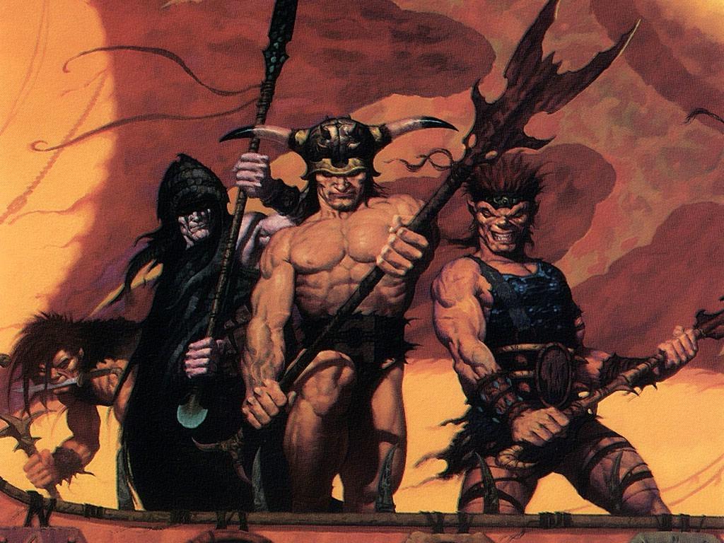 Fantasy Wallpaper: Brom - Pirates