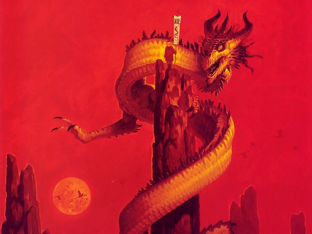 Fantasy Wallpaper: Brom - Serpent of One Thousand Kings