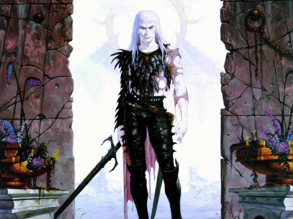 Fantasy Wallpaper: Brom - Warrior