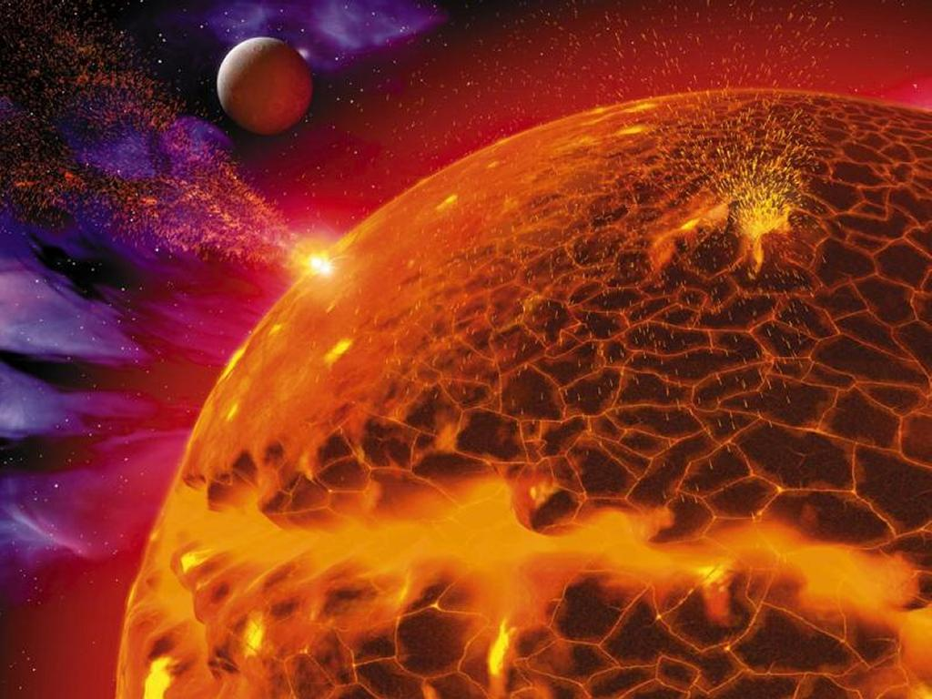 Fantasy Wallpaper: Burning Sun