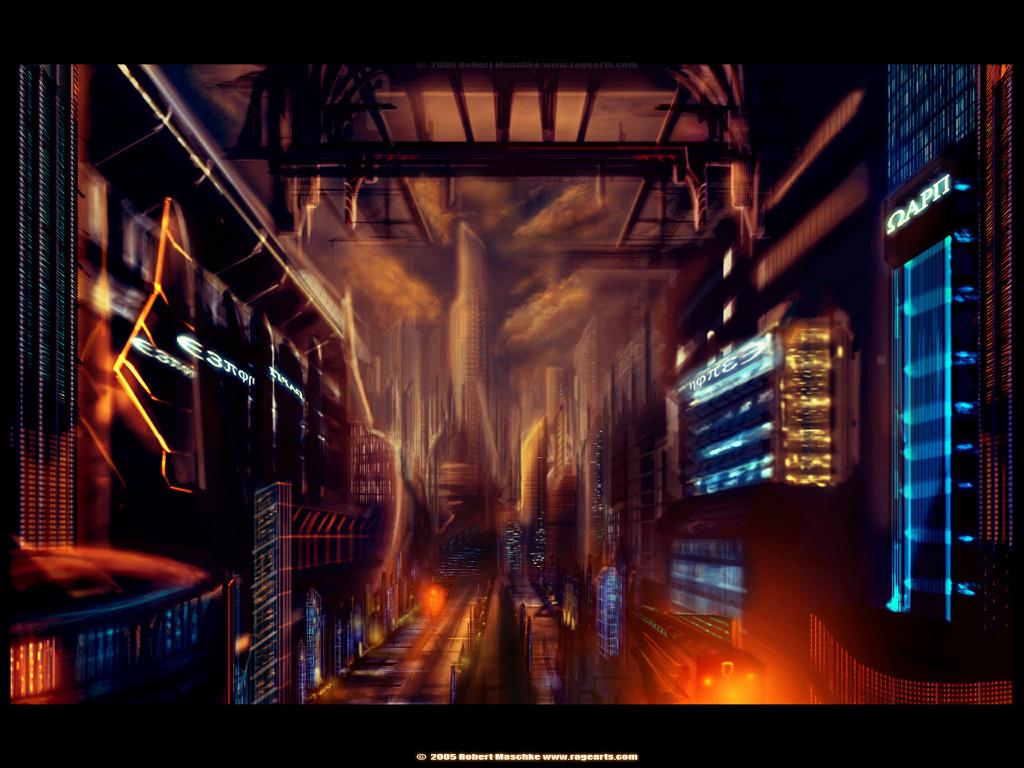 Fantasy Wallpaper: C7X City