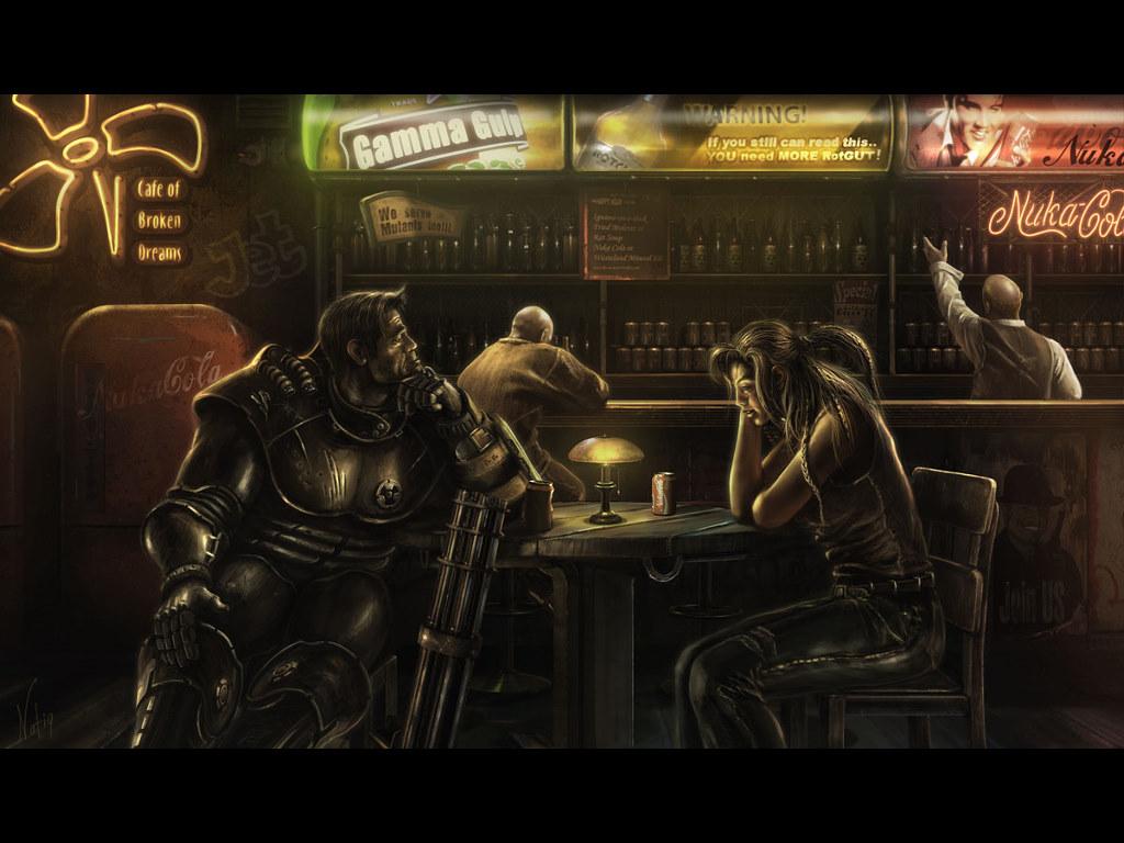 Fantasy Wallpaper: Cafe of Broken Dreams