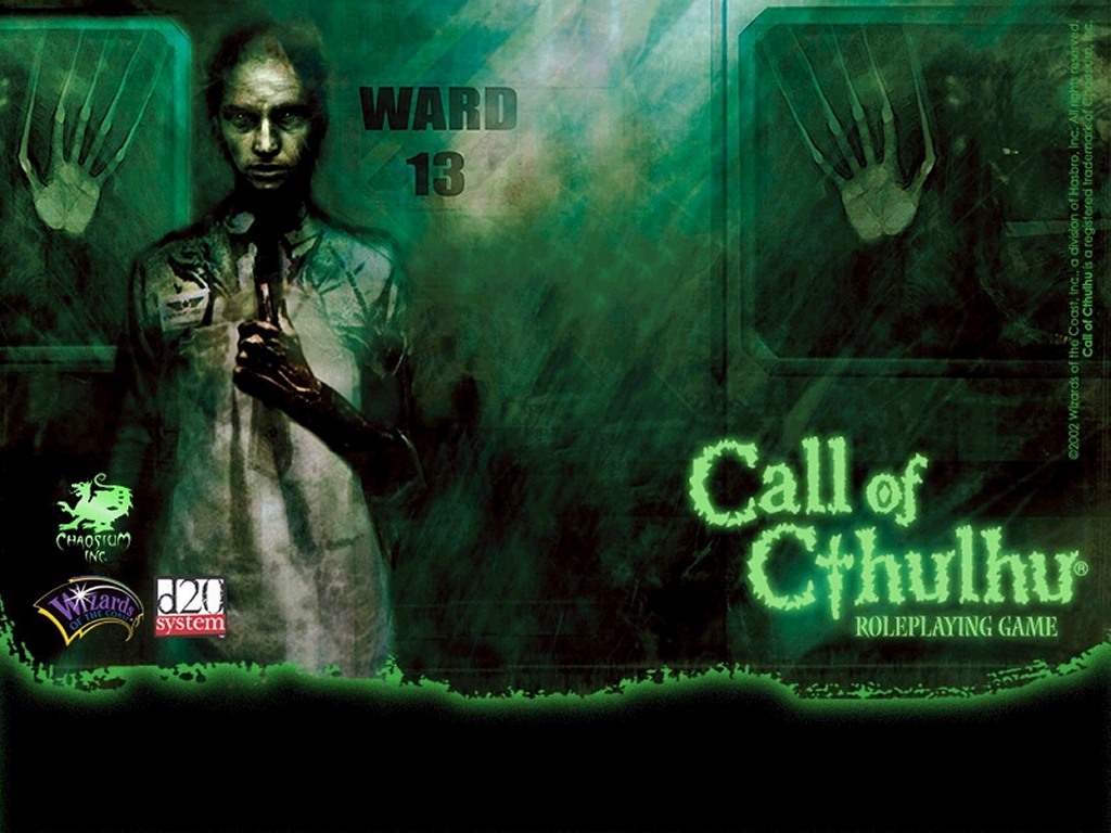 Fantasy Wallpaper: Call of Cthulhu - Ward 13