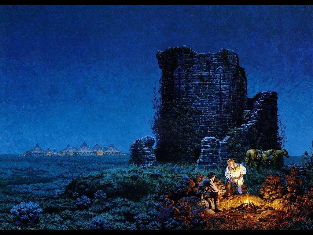 Fantasy Wallpaper: Camping