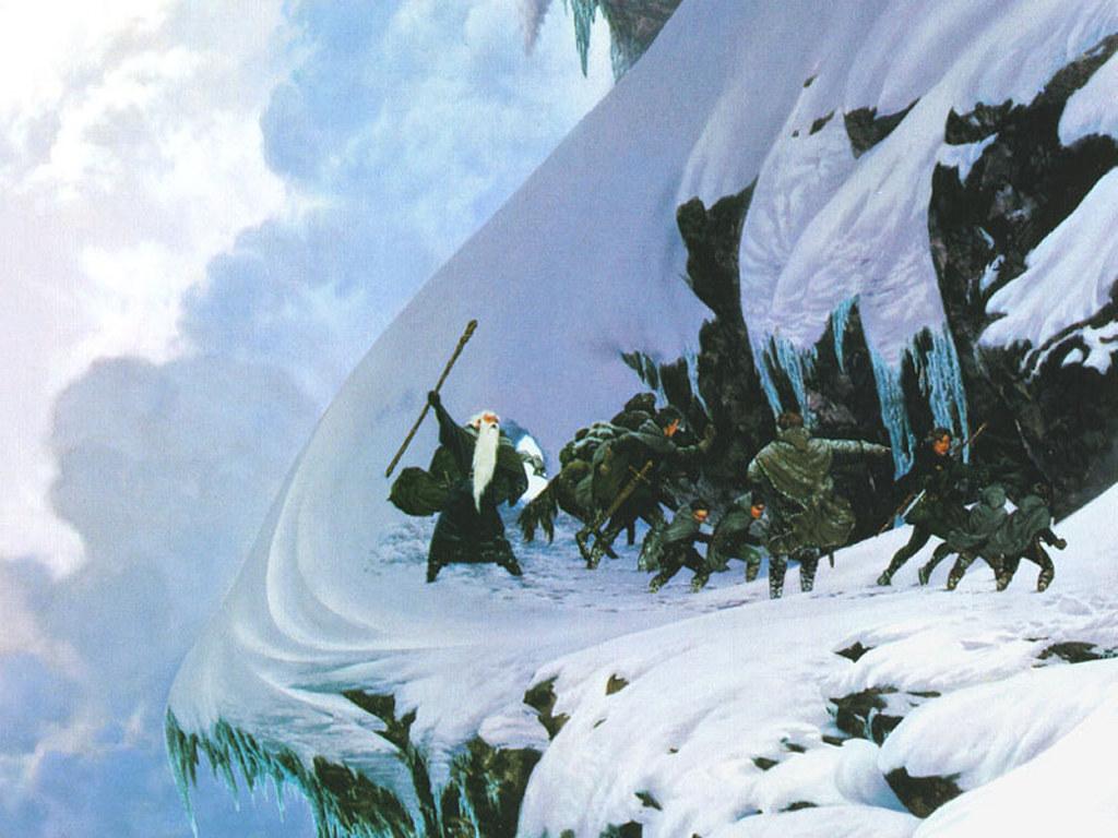 Fantasy Wallpaper: LOTR - Caradhras