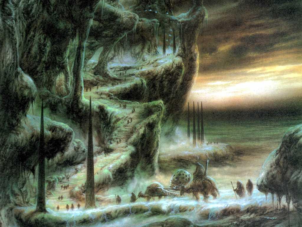 Fantasy Wallpaper: Caravan