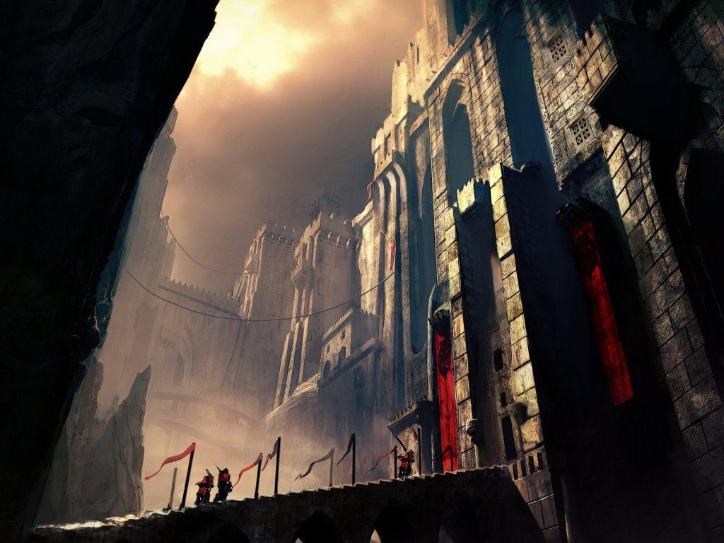 Fantasy Wallpaper: Castle Gates