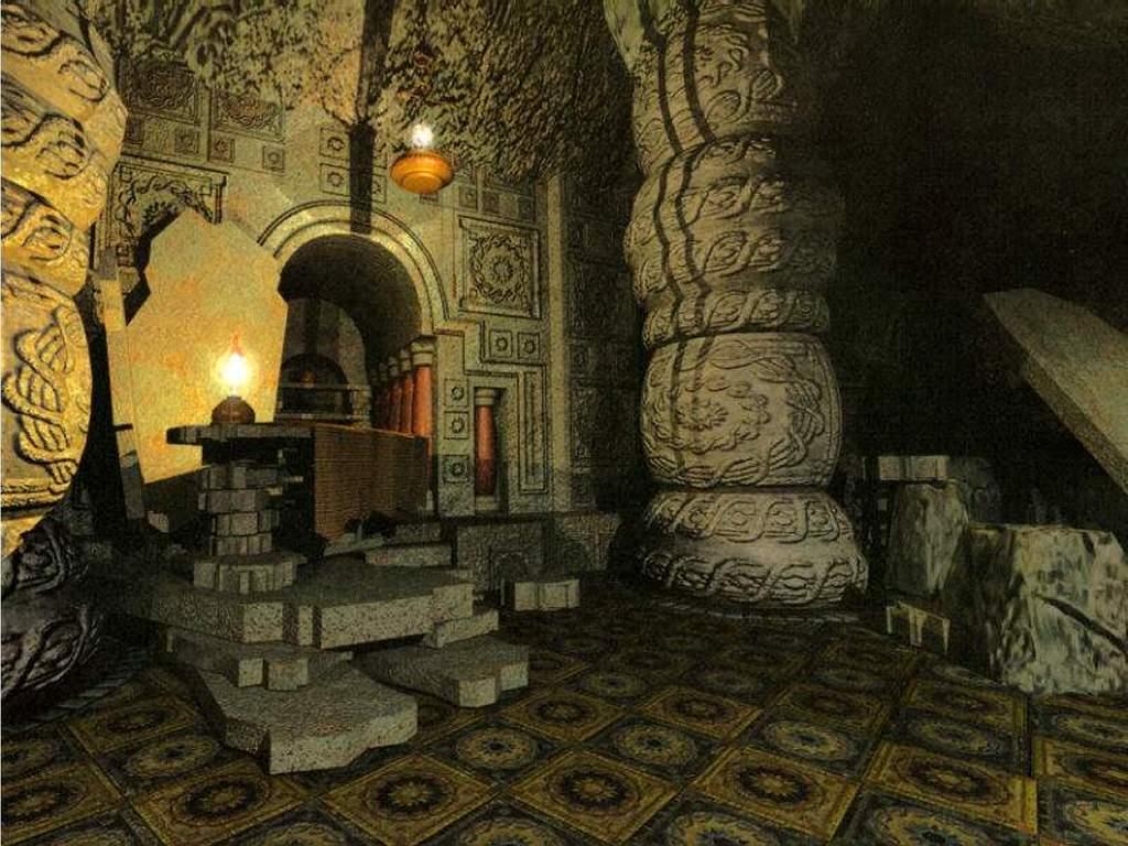 Fantasy Wallpaper: Catacombs