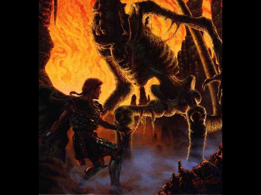 Fantasy Wallpaper: Cave Abomination