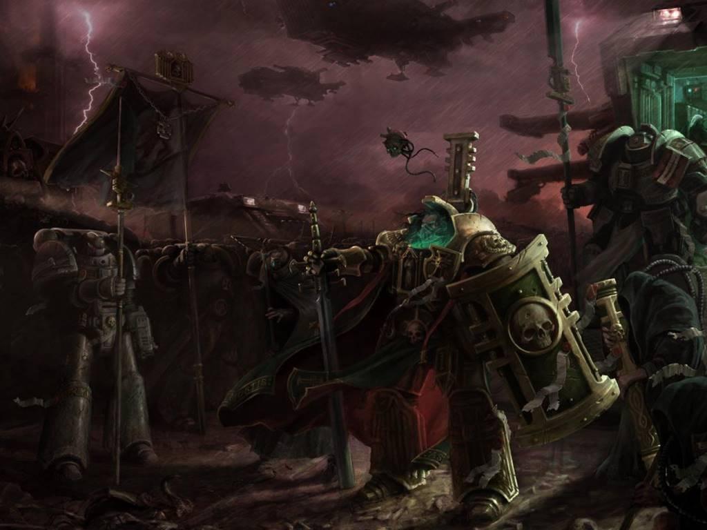 Fantasy Wallpaper: Chaos Marines