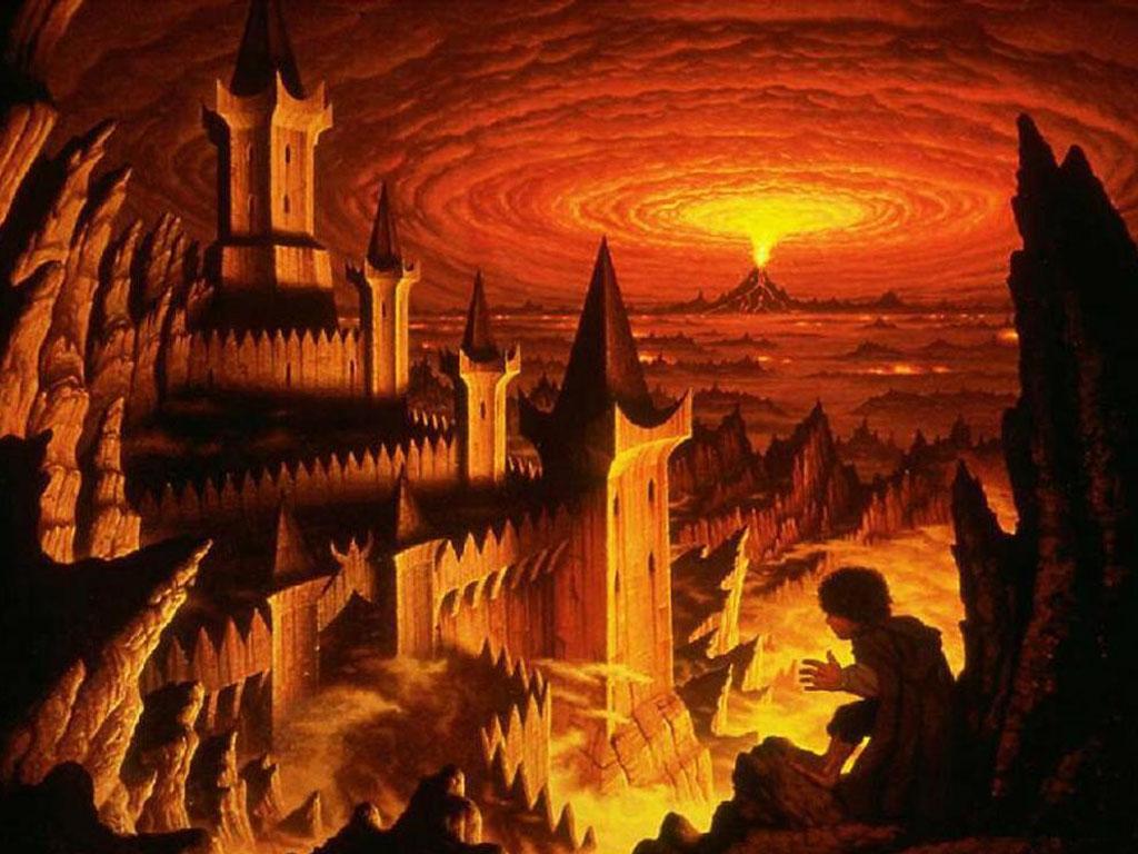 Fantasy Wallpaper: Cirith Ungol