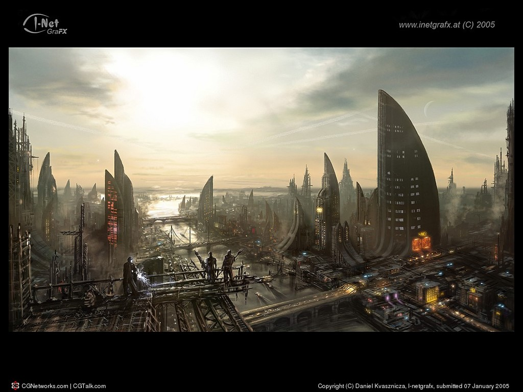 Fantasy Wallpaper: City of the Future