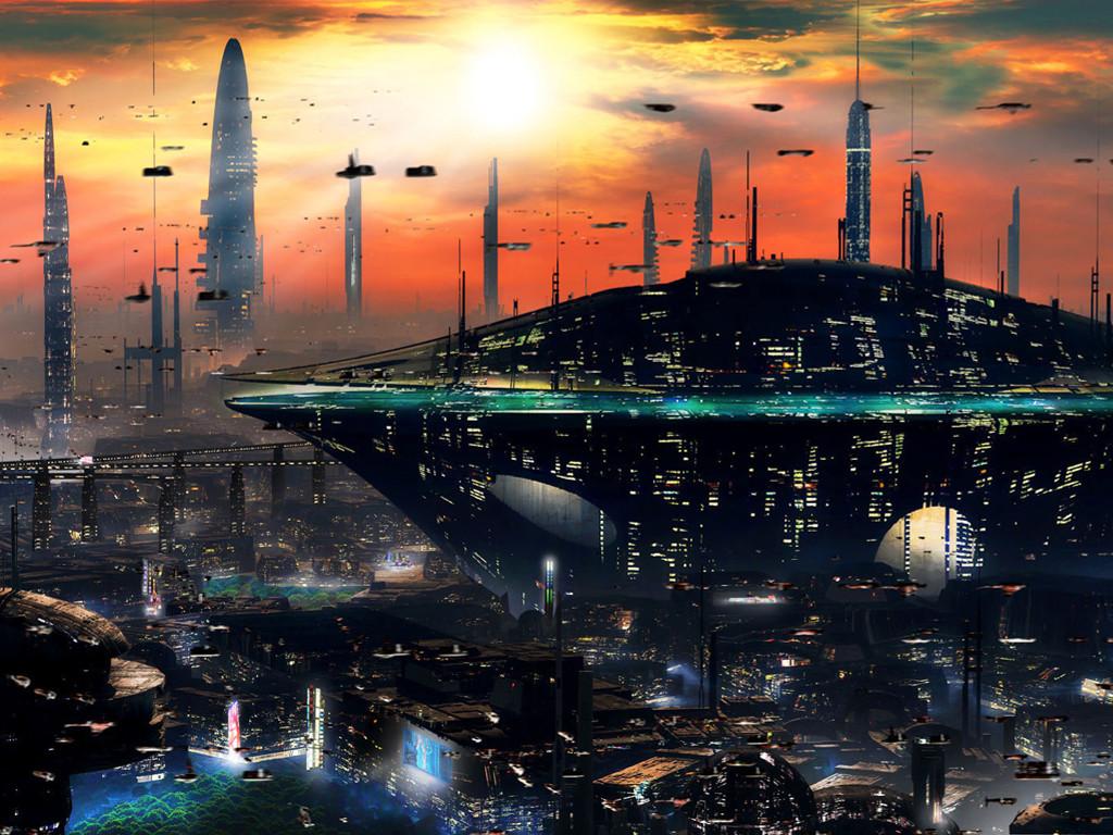 Fantasy Wallpaper: City - Panorama
