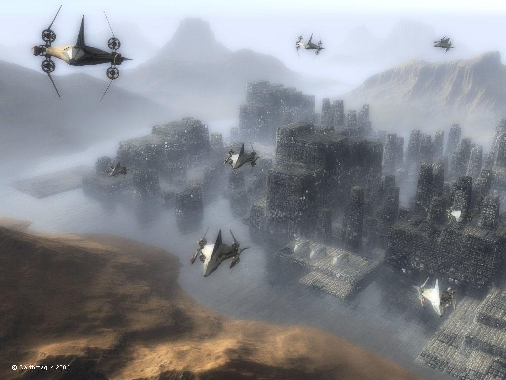 Fantasy Wallpaper: Cityscape