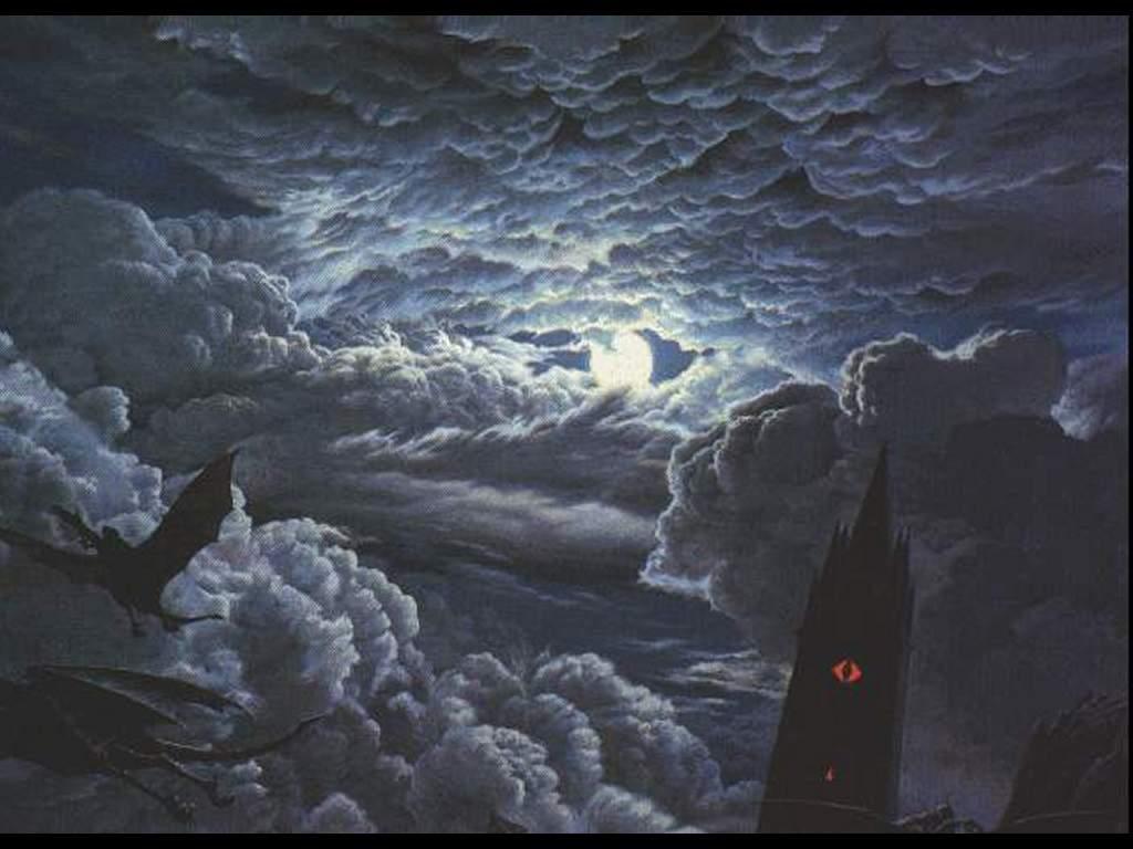Fantasy Wallpaper: Ravenloft Clouds