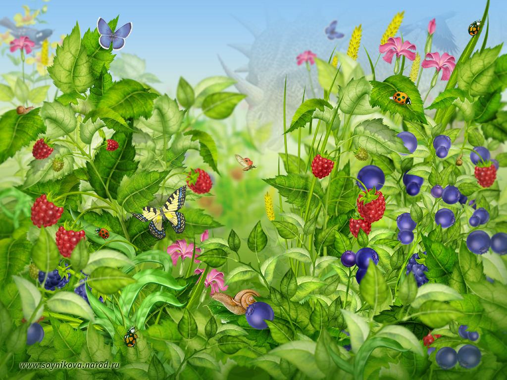 Fantasy Wallpaper: Colorful Garden