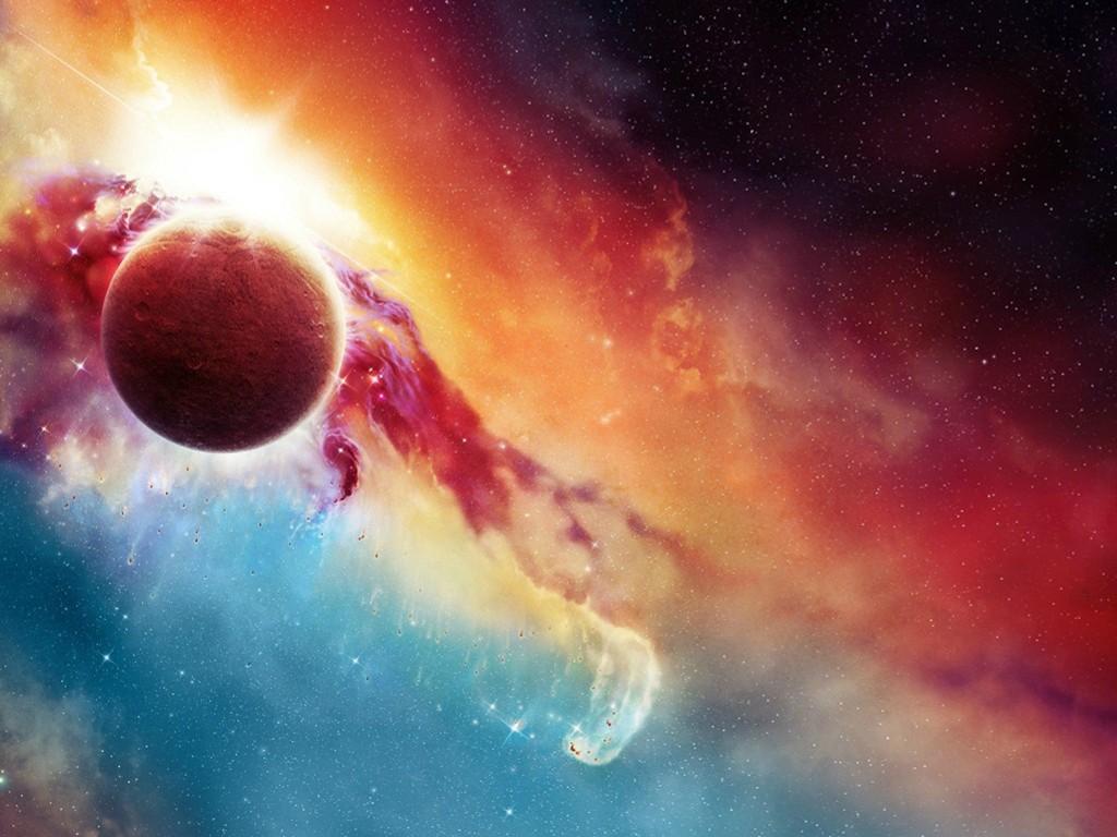 Fantasy Wallpaper: Cosmic Beauty