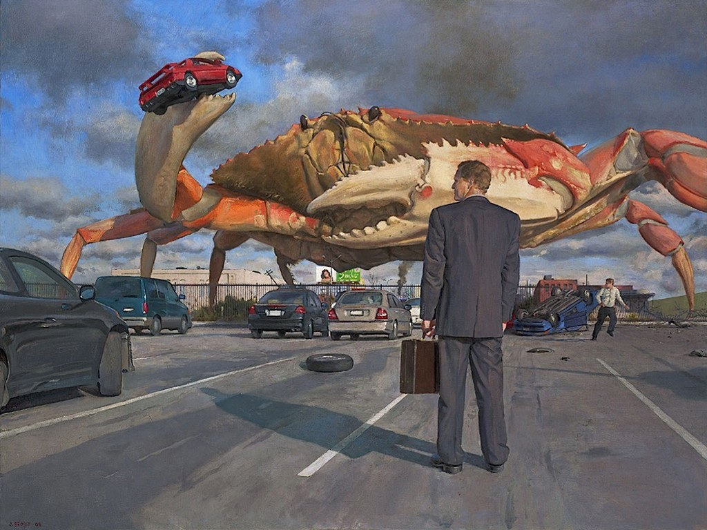 Fantasy Wallpaper: Crab Parking