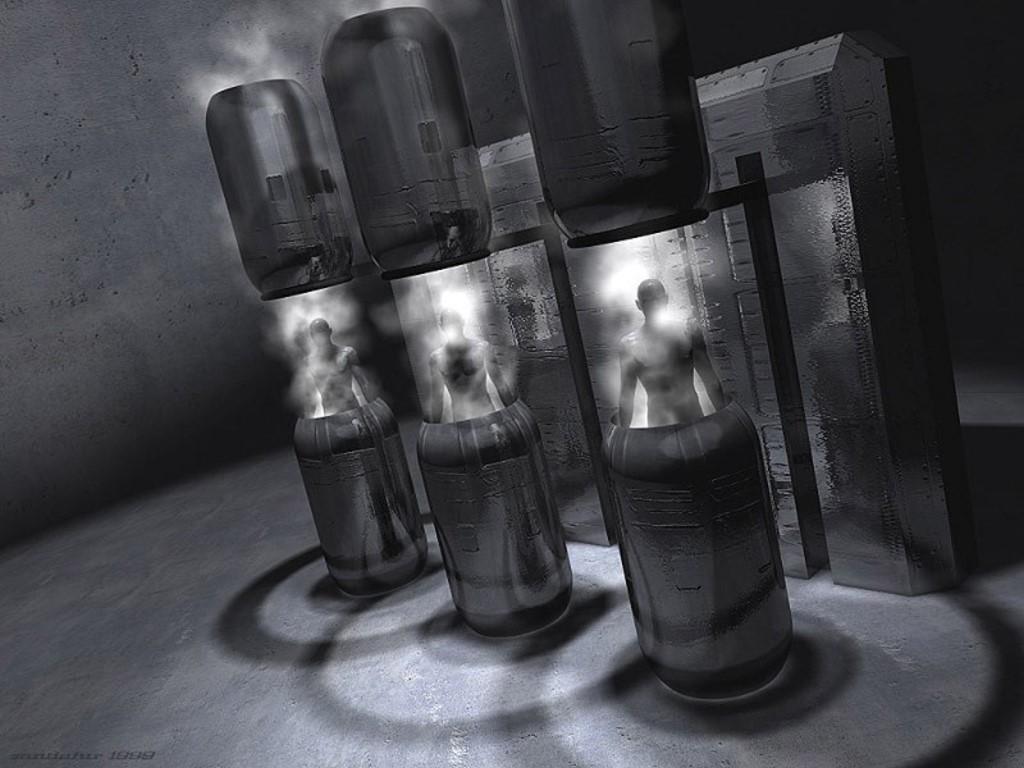 Fantasy Wallpaper: Cryogenic Rebirth