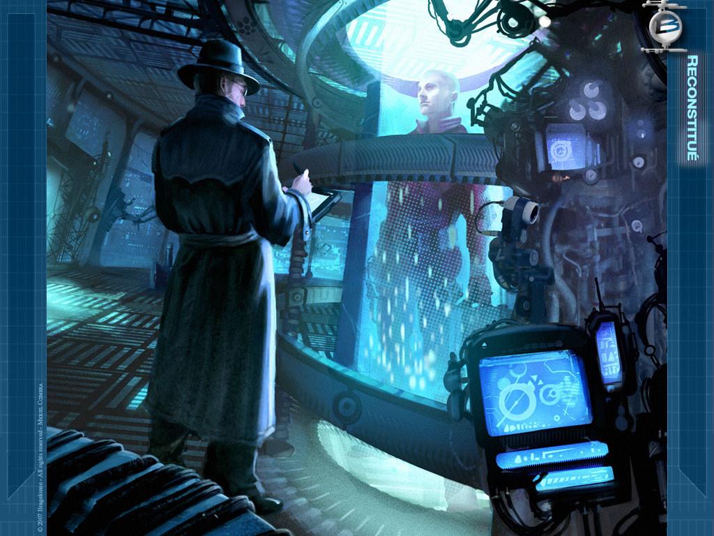 Fantasy Wallpaper: Cryotank