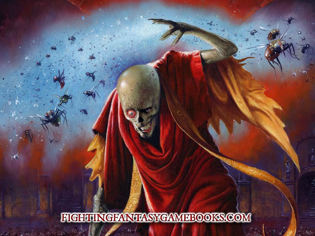 Fantasy Wallpaper: Crypt of the Sorcerer