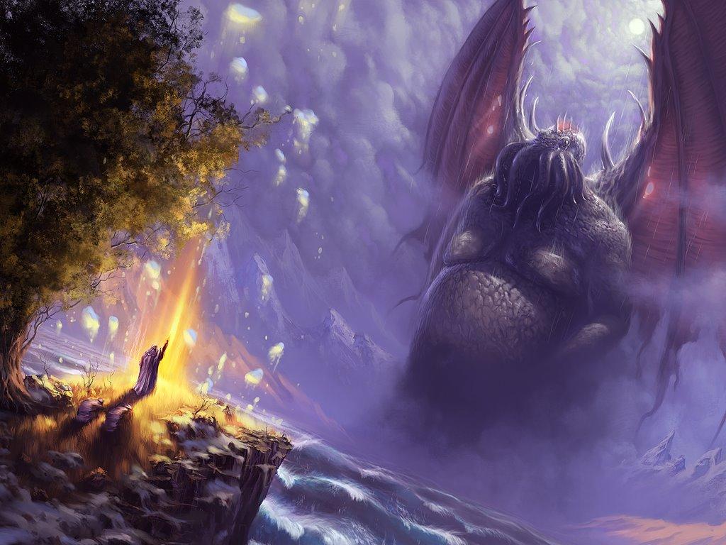 Fantasy Wallpaper: Cthulhu