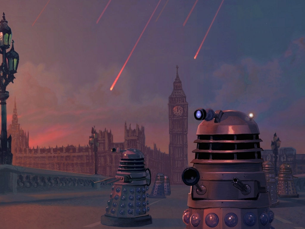 Fantasy Wallpaper: Daleks