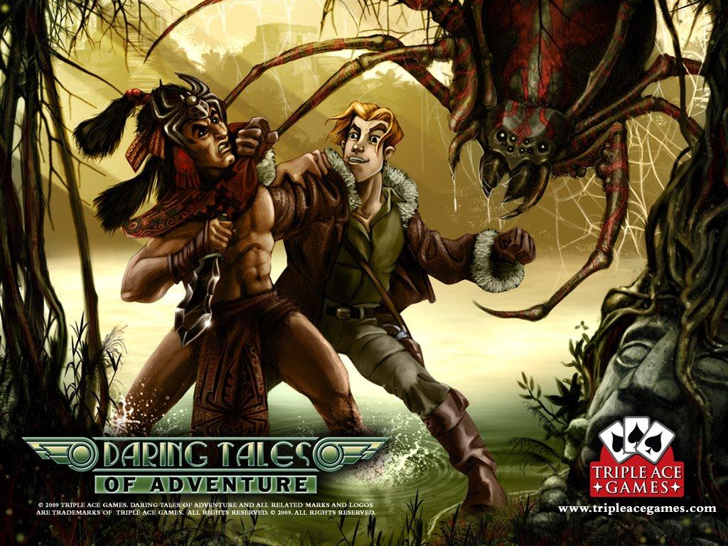 Fantasy Wallpaper: Daring Tales of Adventure