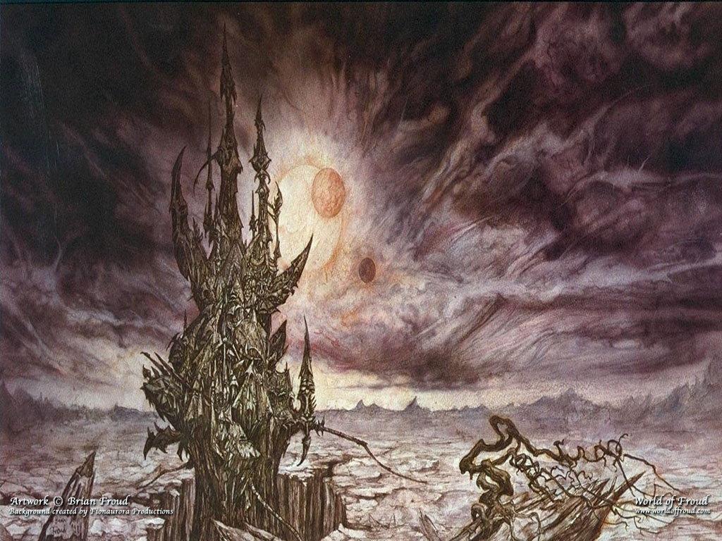 Fantasy Wallpaper: Dark Castle