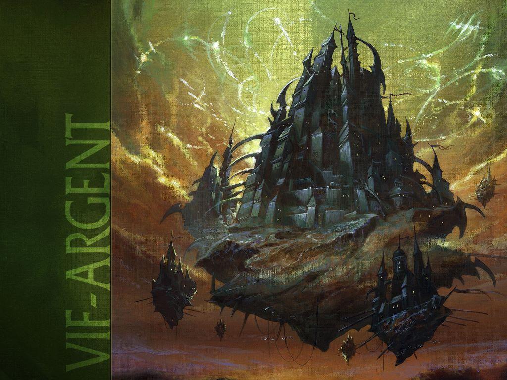 Fantasy Wallpaper: Dark Castles
