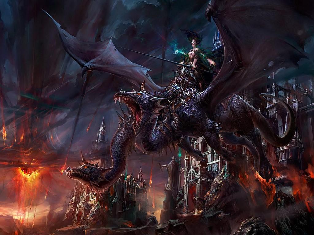 Fantasy Wallpaper: Dark Mistress