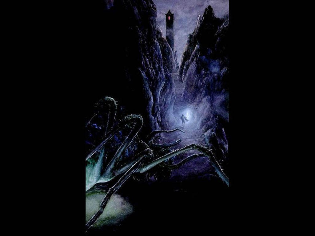 Fantasy Wallpaper: Dark Passage
