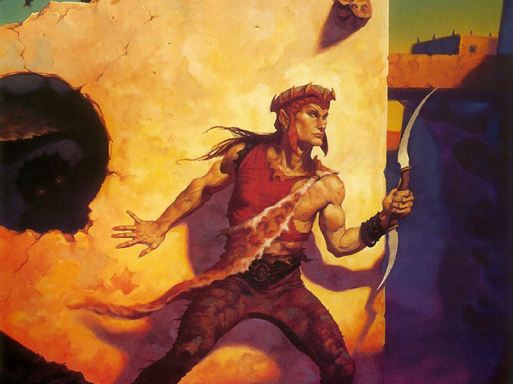 Fantasy Wallpaper: Brom - Dark Sun
