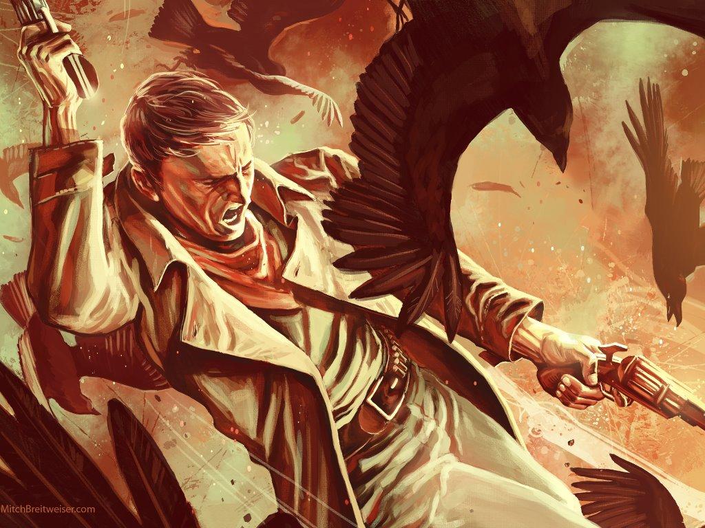 Fantasy Wallpaper: Dark Tower (by Mitch Breitweiser)